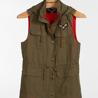 Love Tree Military Hooded Vest