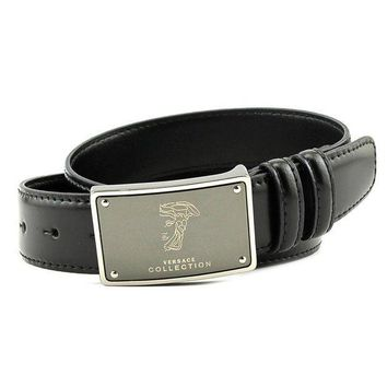 ESBON Versace Collection Men's Leather Belt