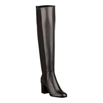 Nine West: Shoshone Black Over-the-Knee Boots