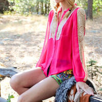 Bohemain Cowgirl Lace Top | Elusive Cowgirl - Western Wear, Cowgirl Clothing, Cowgirl Sunglasses