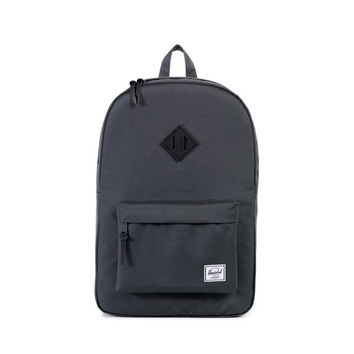 HERSCHEL SUPPLY CO HERITAGE BACKPACK IN DARKSHADOW