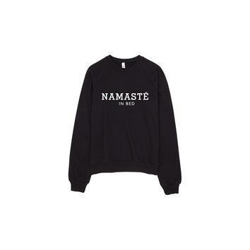 Namaste In Bed Sweater