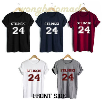 Stiles Stilinski Shirt Beacon Hills Teen Wolf Front Side Unisex Tshirt