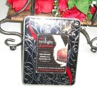 The Twilight Saga Collectible Keepsake tin w/ 4 Hardcover  JOURNALS