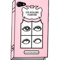 Eye Rolling Forever 3D iPhone Case