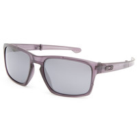Oakley Silver F Sunglasses Matte Grey Ink/Black Iridium One Size For Men 25174811501