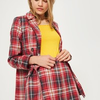 Tartan Checked Pelmet Skirt | Topshop