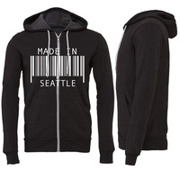 Made in Seattle Zipper Hoodie
