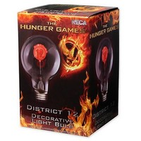 Hunger Games Movie District 12 Decorative Light Bulb - Neca - Hunger Games - Home Decor at Entertainment Earth