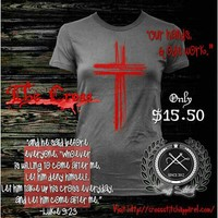 """**Ladies** """"The Cross""""....where it all went down!! THANK YOU JESUS! ... - crossstitchapparel @ Instagram Web Interface - 5th village"""