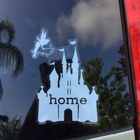 Castle Is My Home Car Decal, UV Resistant, Outdoor