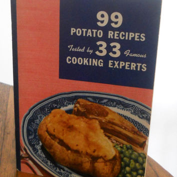 Vintage Potato Recipe Book c 1938 by houseofheirlooms on Etsy