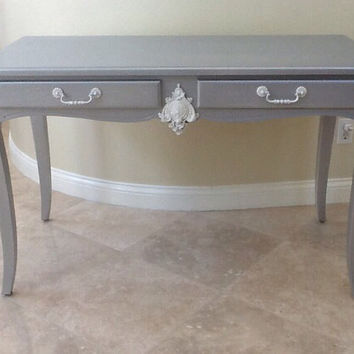 Vintage French provincial table desk