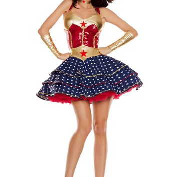Party King Female Wonderful Sweetheart Costume PK819