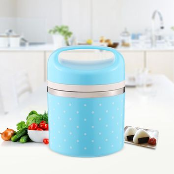 780ml 1-Layer Portable Cute Mini Kitchen Box Leak-Proof Stainless Steel Thermal Lunch Kid Picnic Container Food Storage Outdoor