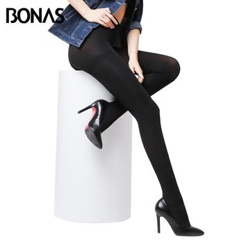 Hot Classic Sexy Women 120D Opaque Footed Tights Pantyhose Thick Tights Stockings Women Fashion Tights S711-120D best price