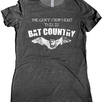 Hunter S. Thompson Bat Country Premium Women's Shirt