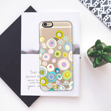 spring spot transparent iPhone 6s case by Sharon Turner | Casetify