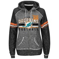 Majestic Miami Dolphins Tame the Tide Fleece Hoodie - Women's, Size: