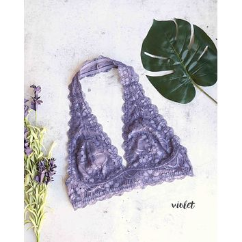 9b1612a95a1db free people - intimately FP Galloon lace halter bralette - more