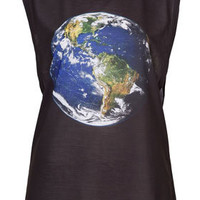 Earth Vest By Tee And Cake - Jersey Tops  - Clothing