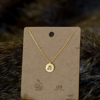 Must Have Leo Necklace