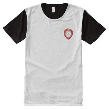 I wish I had a heart All-Over Print T-shirt