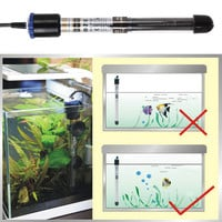 New 100/200/300/500w Aquarium Submersible Fish Tank Adjustable Water Heater submersible heater for aquarium glass fish tank