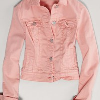 AEO Women's Colored Denim Jacket