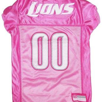 Detroit Lions Pink Jersey MD