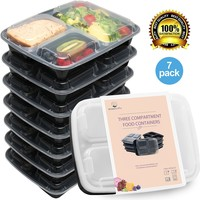 HomeNative Meal Prep Containers Set Pack of 7
