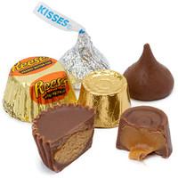 Reese's Peanut Butter Cups - Hershey's Kisses - Rolo Candy Mix: 530-Pi