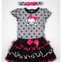Polka Dot Infant Tutu Set