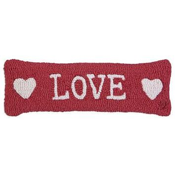 "Love And Hearts 8""X24"" HKD PILLOW"