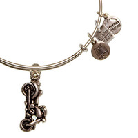 Alex and Ani Motorcycle Toys for Tots Expandable Wire Bangle Russian Silver