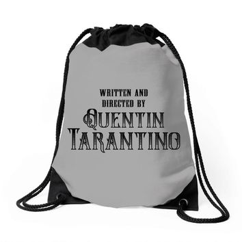 Written and Directed by Quentin Tarantino Drawstring Bags