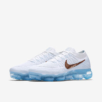 The Nike Air VaporMax Flyknit Explorer Women's Running Shoe.