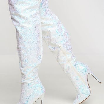 Society Boots - White