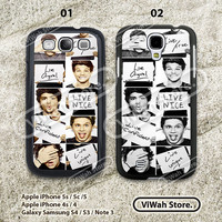 One Direction Samsung Galaxy S3 Case,One Direction Samsung S3 S4 Hard Case & Rubber Case,cover skin case for Samsung galaxy S3 S4 case
