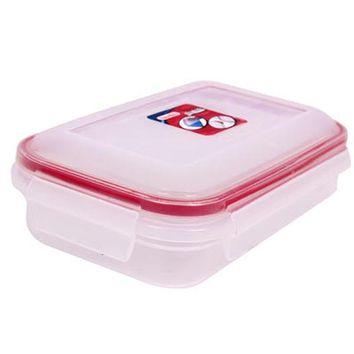 Plastic Storage Container 3.8 Cup - Red - CASE OF 6