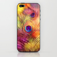 peacock feather iPhone & iPod Skin by Sylvia Cook Photography | Society6