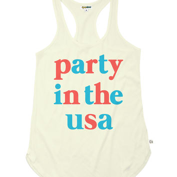 Women's Party in the USA Tank Top