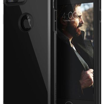 DCCK2JE Caseology Legion Series iPhone 7 Plus Cover Case with Tough Rugged Heavy Duty Protection for Apple iPhone 7 Plus (2016) Only - Jet Black