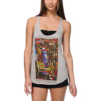 Obey Deep Mountain Charcoal Grey Melody Tank Top at Zumiez : PDP