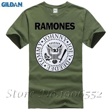 Plus size,M~5XL,Men's Rock Band Ramones Tee Shirt Homme Men's JOEY RAMONE Punk Printing T-shirts Unisex Tops Tee,LWT039