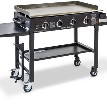 Gas Grill Flat Top Griddle 4 Burner Cooktop Portable BBQ Cooking Propane Gas NEW