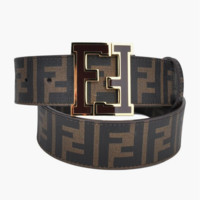 FENDI Woman Fashion Smooth Buckle Belt Leather Belt H-A-GFPDPF