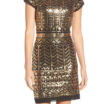 Eliza J Sequin Sheath Dress (Regular & Petite) | Nordstrom