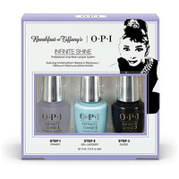 OPI Breakfast at Tiffany's 3 Pc Infinite Shine Set