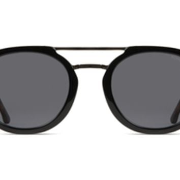 Komono - The Gilles Acetate Black Tortoise Sunglasses